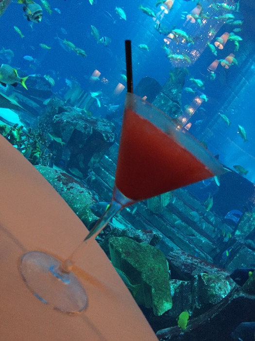 Cocktails at Ossiano Atlantis The Palm
