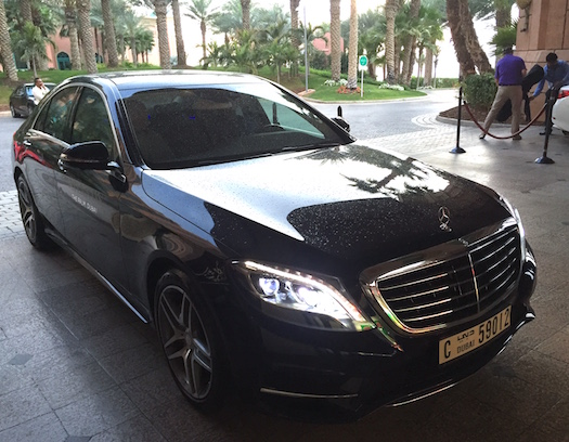 luxury airport pickup atlantis the palm