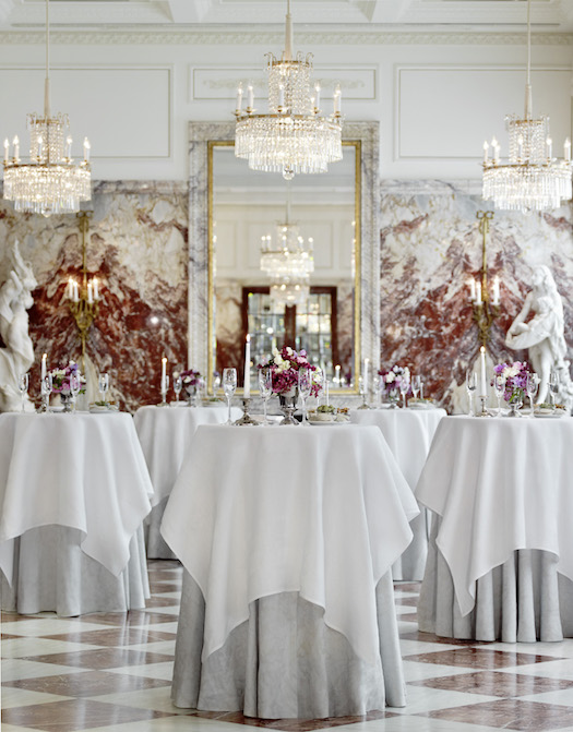 pre function area at Hotel Sacher Vienna