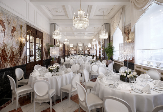 Ballroom at hotel Sacher Vienna
