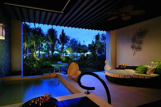 ShangriLa Rasa Ria Ocean Wing Balcony