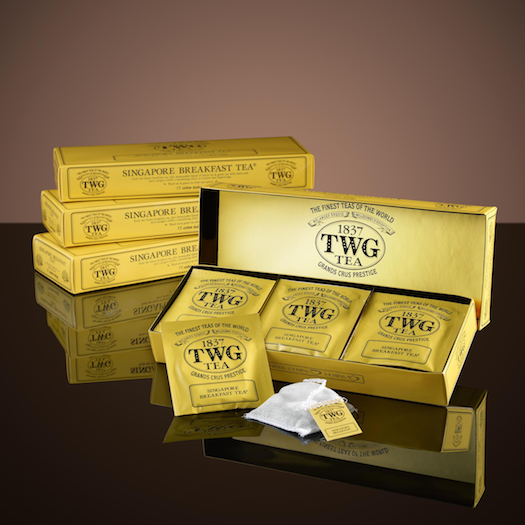 TWG Tea from Singapore now in Mumbai