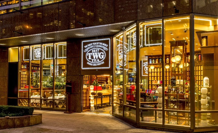 TWG store in Canada