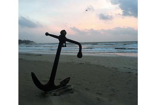 Trincomalee Beach Anchor