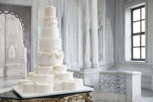 Wedding cake Ciragan Palace Kempsinski Istanbul