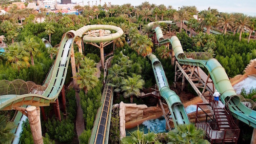 aquaventure waterpark at Atlantis The Palm Dubai
