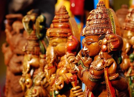 idols indian wedding