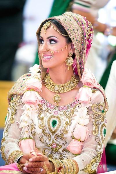 indian bridal varmala