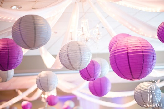 paper lanterns used at indian wedding