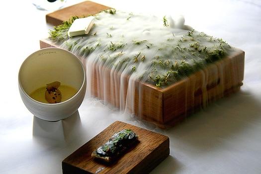 wedding food mednu display
